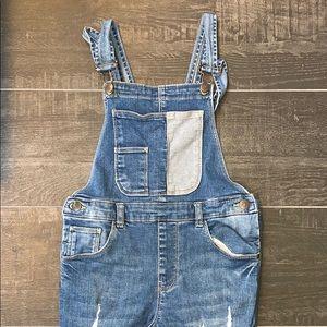 Zara Pants - Zara Girls Denim Overalls, Size 8